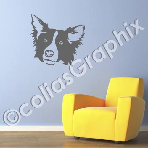 hundeaufkleber shop border collie hundesticker. Black Bedroom Furniture Sets. Home Design Ideas