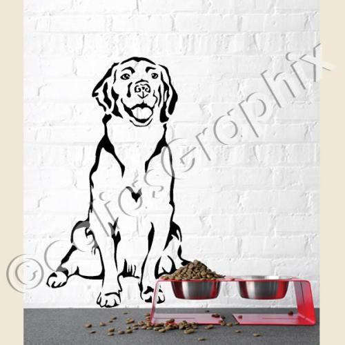 hundeaufkleber shop golden retriever hunde wandtattoo autoaufkleber. Black Bedroom Furniture Sets. Home Design Ideas