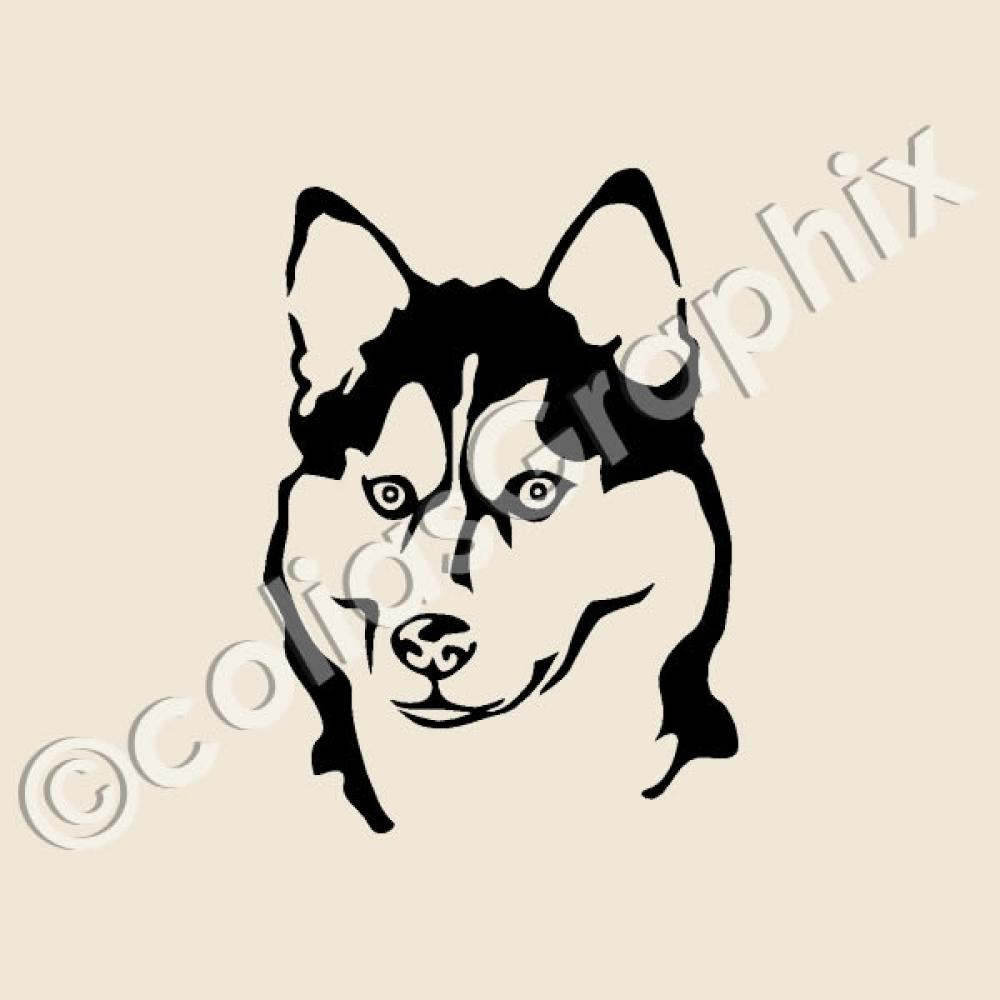 Siberian Husky Autoaufkleber Hunde Kfz Tattoo Grs Art44 On