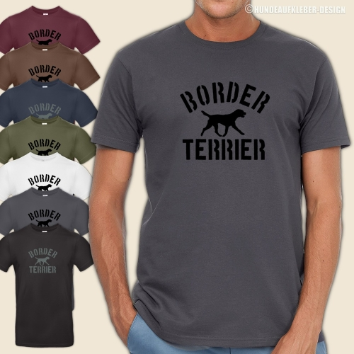 Border Terrier T-Shirt Männer