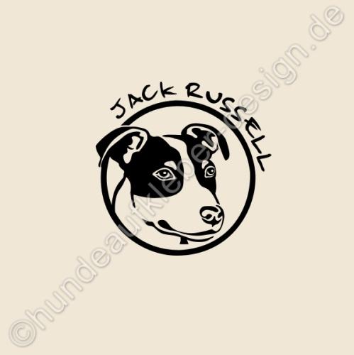 hundeaufkleber shop jack russell hunde wandtattoos. Black Bedroom Furniture Sets. Home Design Ideas