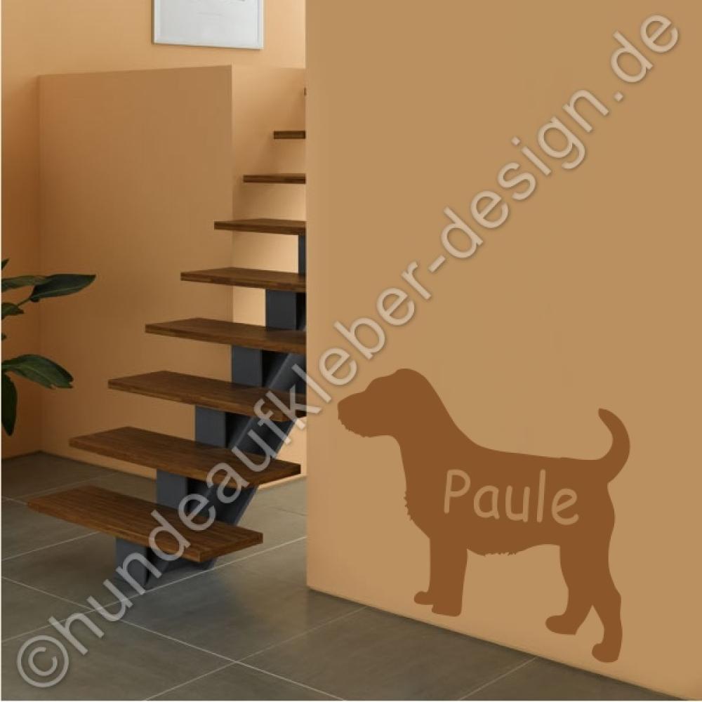 hundeaufkleber shop jack russell aufkleber mit wunschname. Black Bedroom Furniture Sets. Home Design Ideas