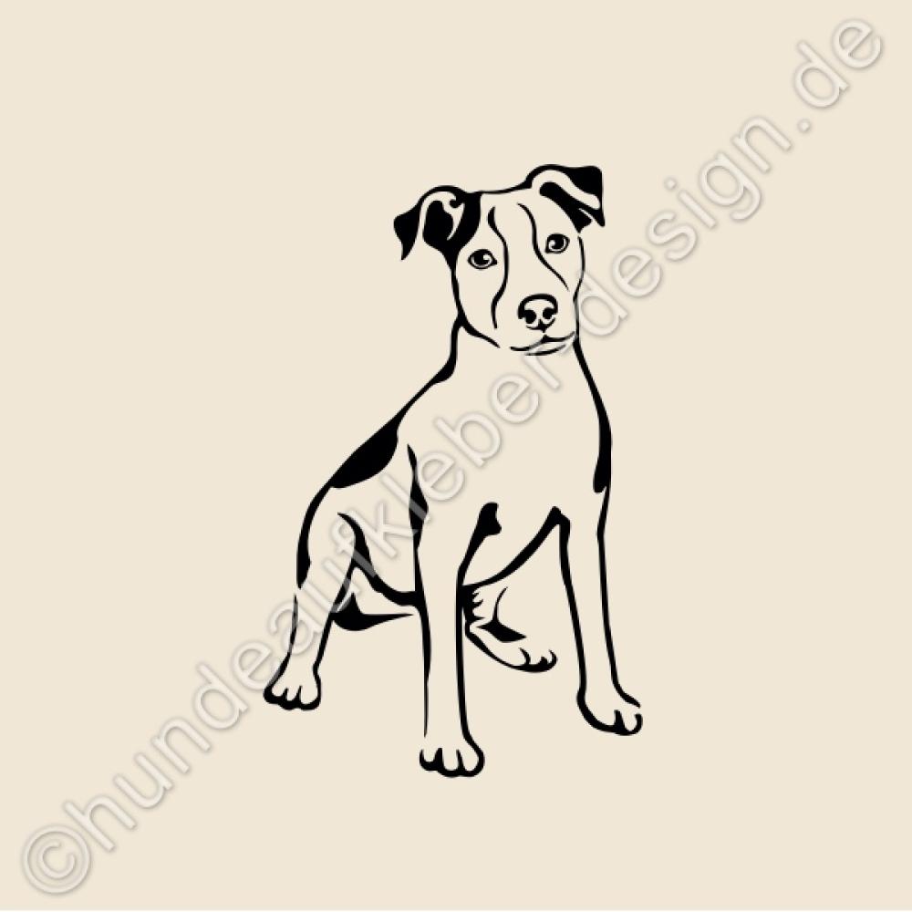 hundeaufkleber shop hunde wandtattoos jack russell. Black Bedroom Furniture Sets. Home Design Ideas