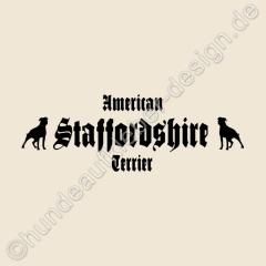 hundeaufkleber shop aufkleber american staffordshire terrier. Black Bedroom Furniture Sets. Home Design Ideas